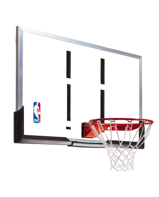 "54"" Acrylic Backboard and Rim Combo Basketball Hoop"