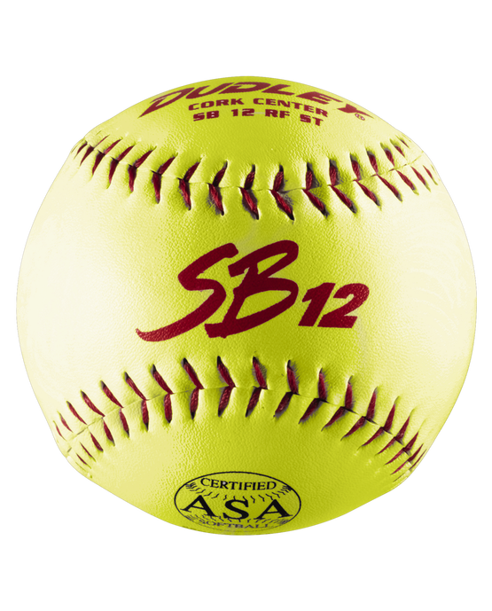 ASA SB 12T SLOWPITCH SOFTBALL - 12 PACK