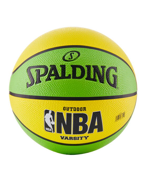 NBA Varsity Multi-Color Outdoor Basketball -  Neon Green & Yellow neongreen/yellow
