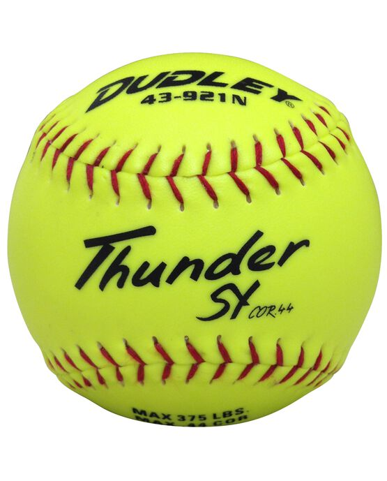 "12"" NON-ASSOCIATION THUNDER SY SLOWPITCH SOFTBALL - 12 PACK"