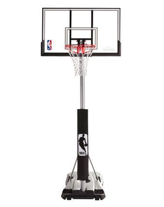 """Hercules® 52"""" Acrylic Advanced Portable Basketball Hoop"""
