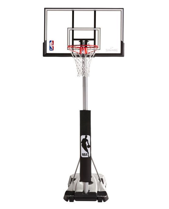 "Hercules® 52"" Pro Acrylic Portable Basketball Hoop Black"