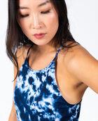 Women's Shirred Side Tank Sky Tie Dye XS SKY TIE DYE