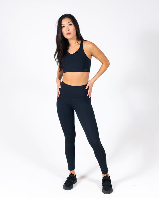 Women's Pace Performance Legging Black Small BLACK