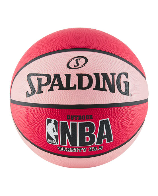 "NBA Varsity Multi-Color Outdoor Basketball - 28.5"" - Red and Pink red/pink"