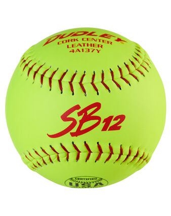 "12"" USASB SB12 SLOWPITCH SOFTBALL - 12 PACK"