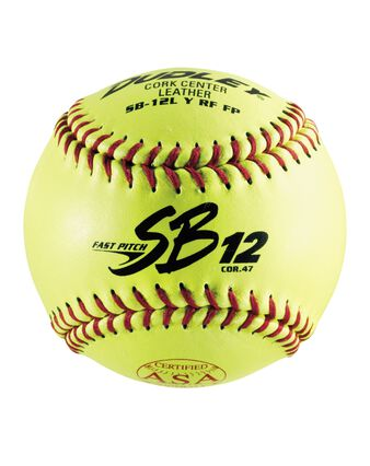 ASA SBC FASTPITCH SOFTBALL - 12 PACK