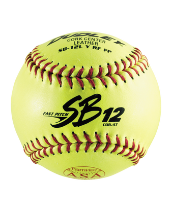 "12"" ASA SB12 FASTPITCH SOFTBALL - 12 PACK"