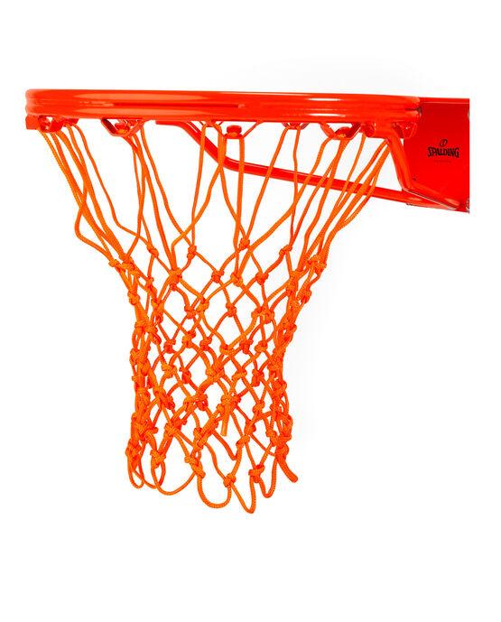 HEAVY DUTY BASKETBALL NET - ORANGE orange