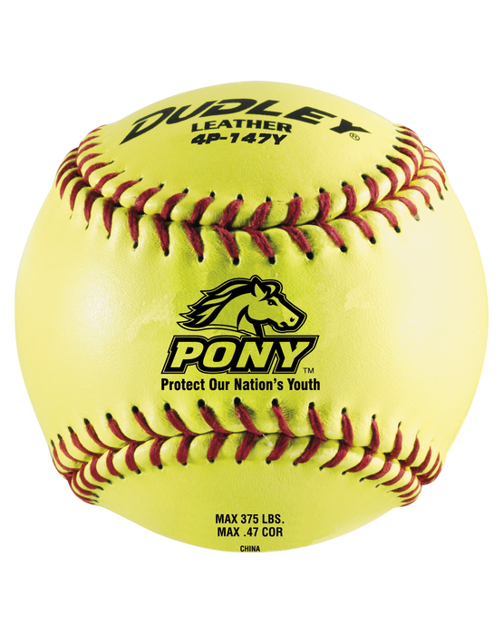 "11"" OFFICIAL PONY LEAGUE FASTPITCH SOFTBALL"