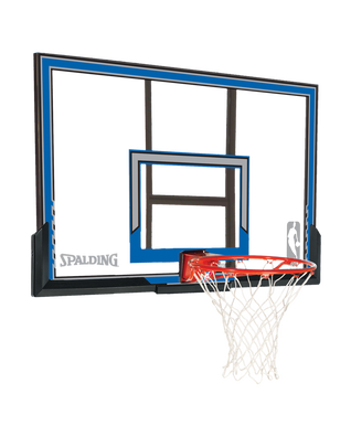 Polycarbonate Backboard and Rim Combo