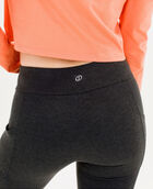 "Women's 28"" Legging with Pockets Charcoal Heather Small CHARCOAL HEATHER"