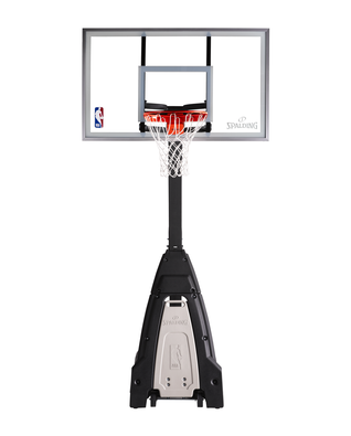 The Beast Glass Portable Basketball Hoop System