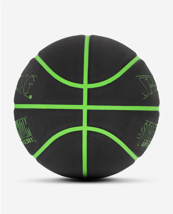 "Street Phantom Black and Neon Green Outdoor Basketball 29.5"" Neon Green/Black"