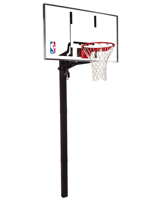 U-Turn® In-Ground Glass Basketball Hoop System