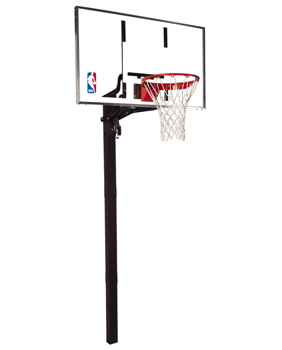 "U-Turn® 54"" Acrylic In-Ground Basketball Hoop"