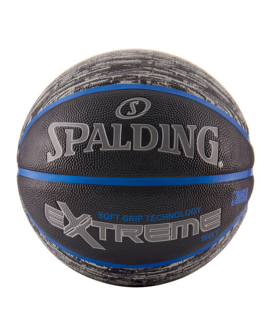 """NBA Extreme Pattern Series Black and Grey Outdoor Basketball - 29.5"""" black/grey"""