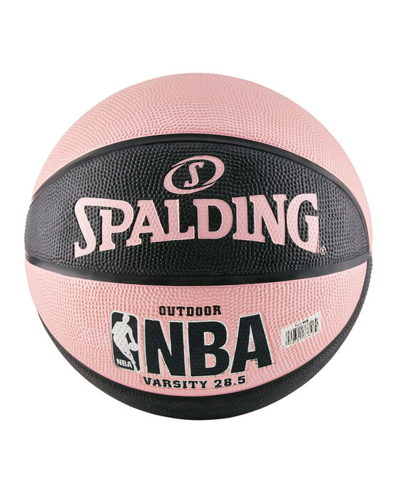 "NBA Varsity Multi-Color Outdoor Basketball - 28.5"" - Black and Pink black/pink"