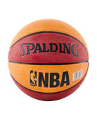 NBA Mini Red and Orange Rubber Outdoor Basketball red/orange