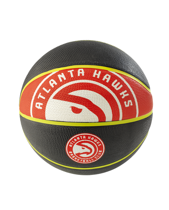 Atlanta Hawks NBA Courtside Team Outdoor Basketball