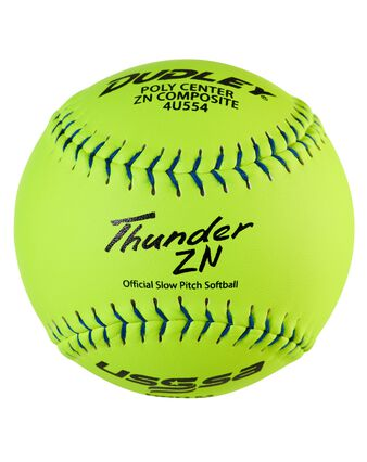 "12"" USSSA Pro-M Stamp Slowpitch Softball -12 Pack"