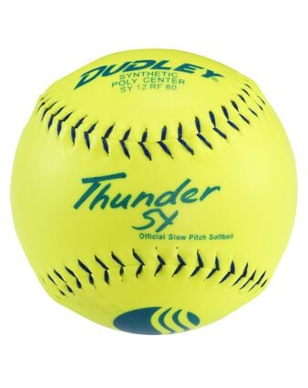 USSSA THUNDER SY SLOWPITCH SOFTBALL - 12 PACK