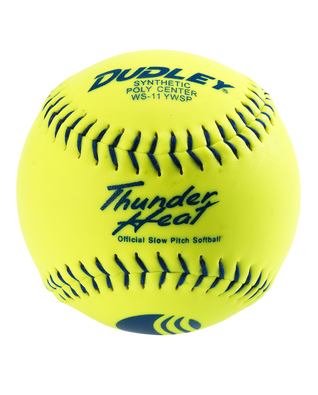 THUNDER HEAT® CLASSIC-W STAMP SLOWPITCH SOFTBALL - 12 PACK