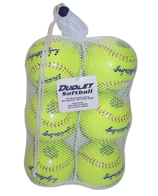 BAG OF SLOWPITCH SOFTBALLS