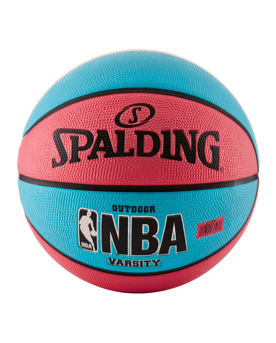 NBA Varsity Multi-Color Outdoor Basketball -  Neon Pink & Blue neonpink/blue