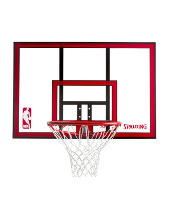 Polycarbonate Basketball Backboard & Rim Combo