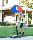 "Eco-Composite 32"" Telescoping Portable Basketball Hoop"