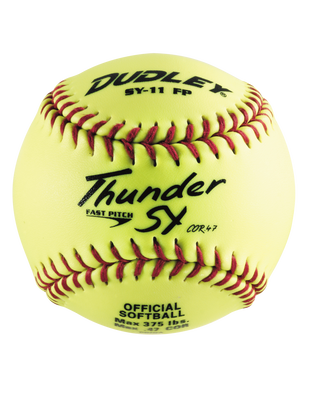 NON-ASSOCIATION THUNDER SY FASTPITCH SOFTBALL - 12 PACK