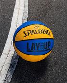 "Layup Mini Blue/Orange Rubber Outdoor Basketball 22"" Blue/Orange"