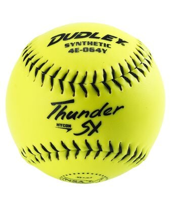 "11"" NSA THUNDER SY HYCON SLOWPITCH SOFTBALL- 12 PACK"