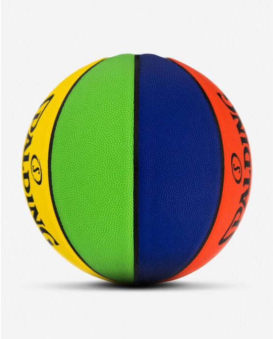 Rookie Gear® Multi-Color Youth Indoor-Outdoor Basketball Multicolor