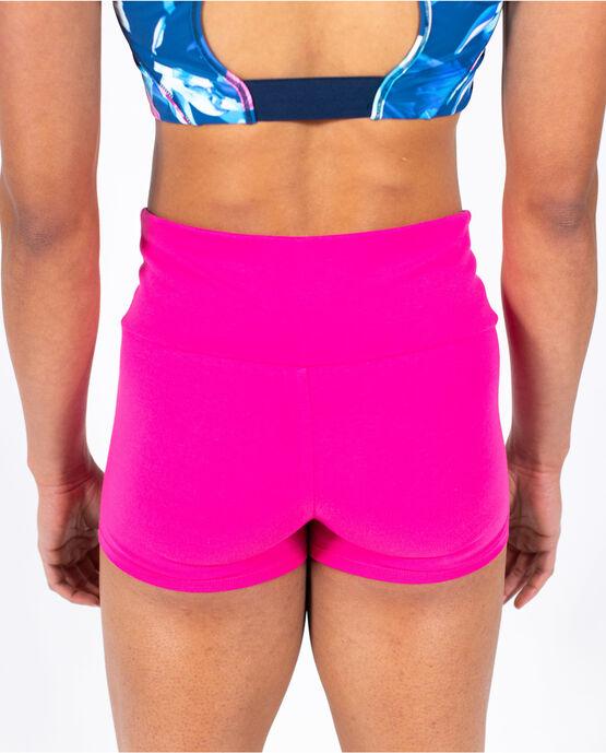 "Women's 3"" Cotton Gym Short Magenta Medium MAGENTA"