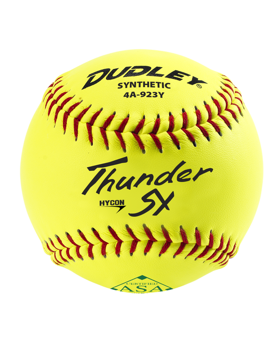 "11"" ASA THUNDER HYCON SLOWPITCH SOFTBALL"