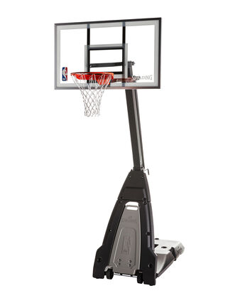 """The Beast® 54"""" Glass Portable Basketball Hoop System"""