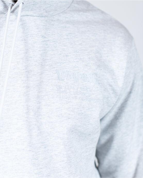 Men's Logo Hoodie Heather Grey XL HEATHER GRAY