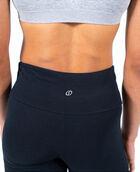 Women's Slim Fit Yoga Pant Black Small BLACK