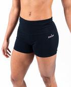 "Women's 3"" Cotton Gym Short Black XL BLACK"