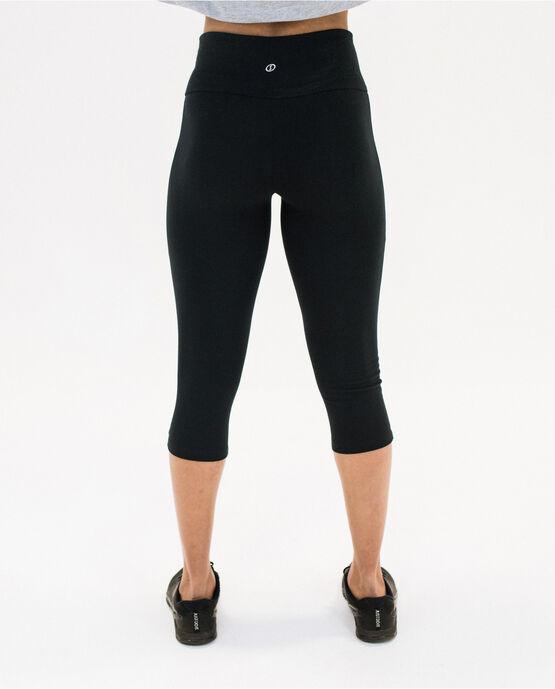 """Women's 19"""" Capri Legging Black Medium BLACK"""