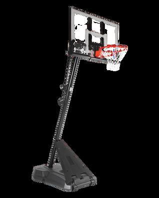 Hercules® Exactaheight™ Portable Basketball Hoop System - Acrylic