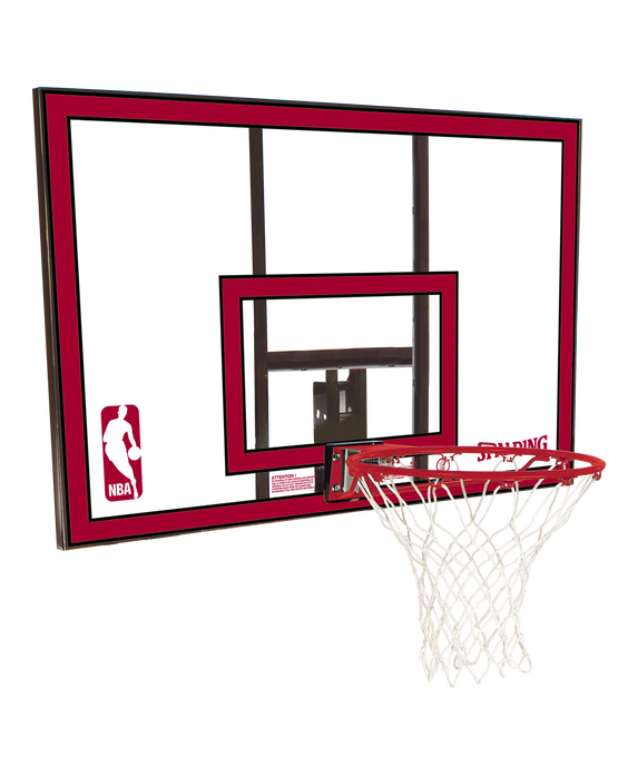 "44"" Polycarbonate Backboard and Rim Combo"