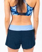 Women's Mesh Overlay Performance Short Navy Blazer XL NAVY BLAZER