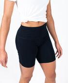 Women's Cotton Bike Short Black Small BLACK