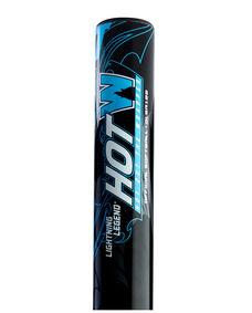 "Lightning Legend HotW 12"" Barrel 34""/26oz Senior Slowpitch Softball Bat - Black/Blue"
