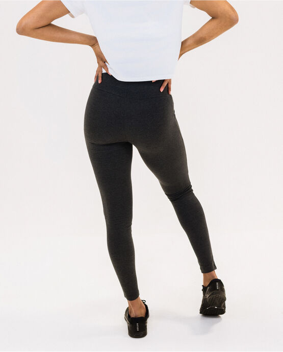 "Women's 28"" Legging Charcoal Heather Large CHARCOAL HEATHER"