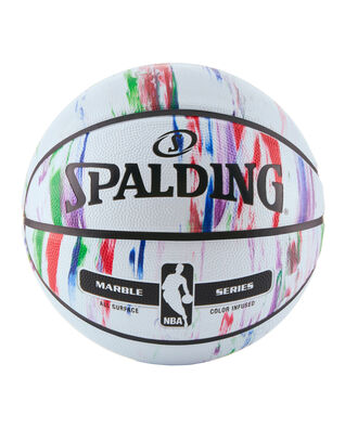 NBA Marble Series Multi-Color Outdoor Basketball
