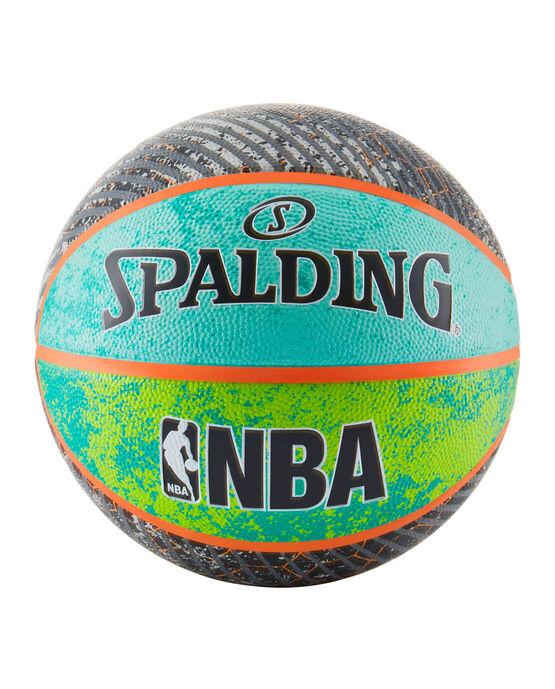"""NBA Designer Collection Green/Blue/Gray Outdoor Basketball - 29.5"""""""